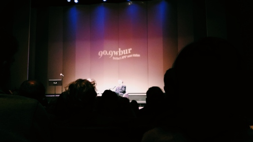 David Carr & Jill Abramson at BU Tsai Performance Center