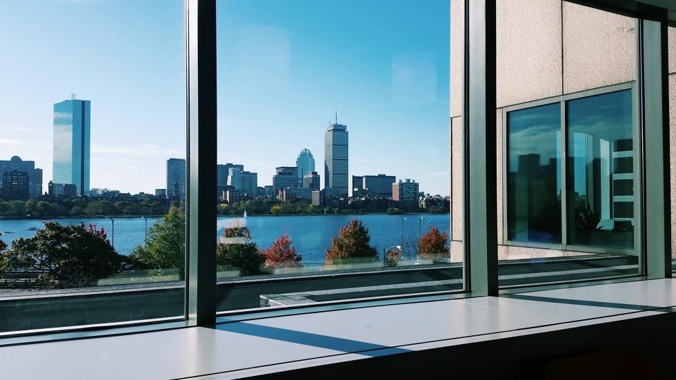 View from Microsoft NERD Cambridge