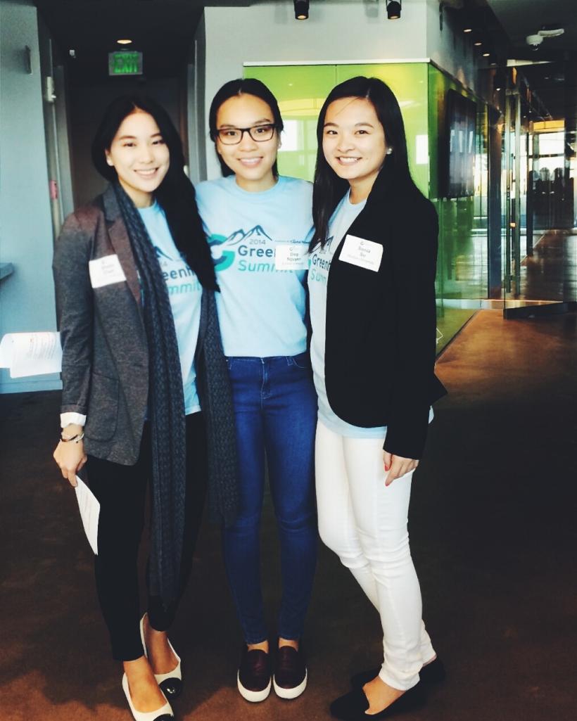 The BUzz Lab interns at Greenhorn Summit 2014