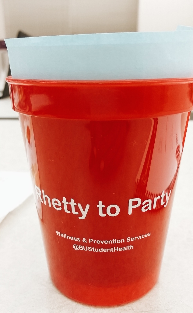 Rhetty to Party cup