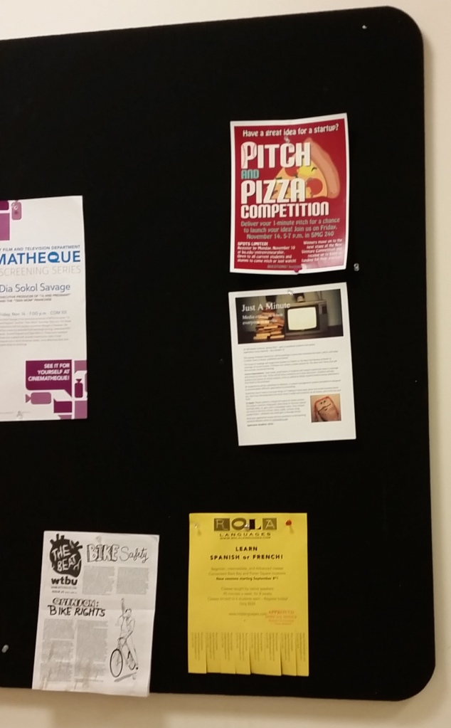 Pitch & Pizza competition flyer
