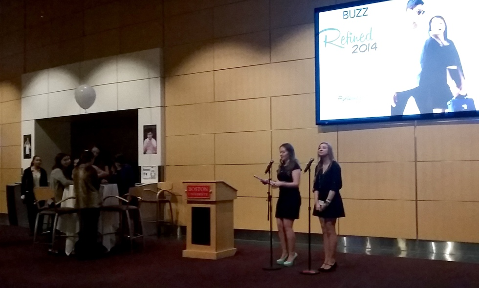 The Buzz Magazine fall 2014 launch at Agganis Arena Burke Room