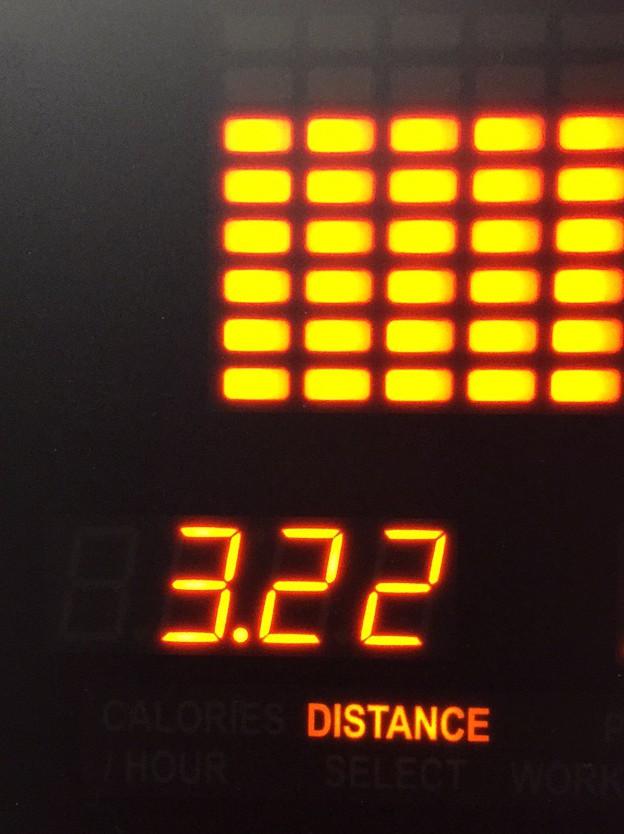 Hotel Chandler treadmill results