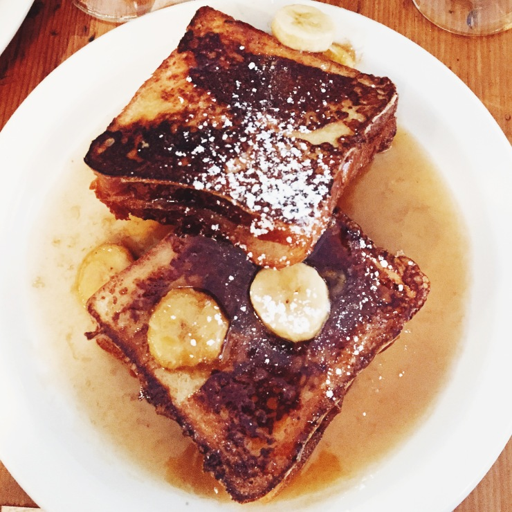 Nutella French toast at Penelope NYC