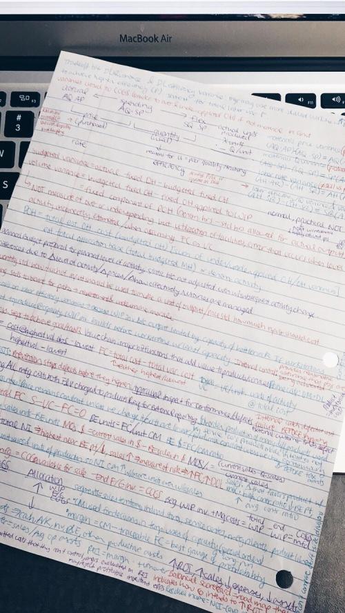 BU AC222 final exam notes