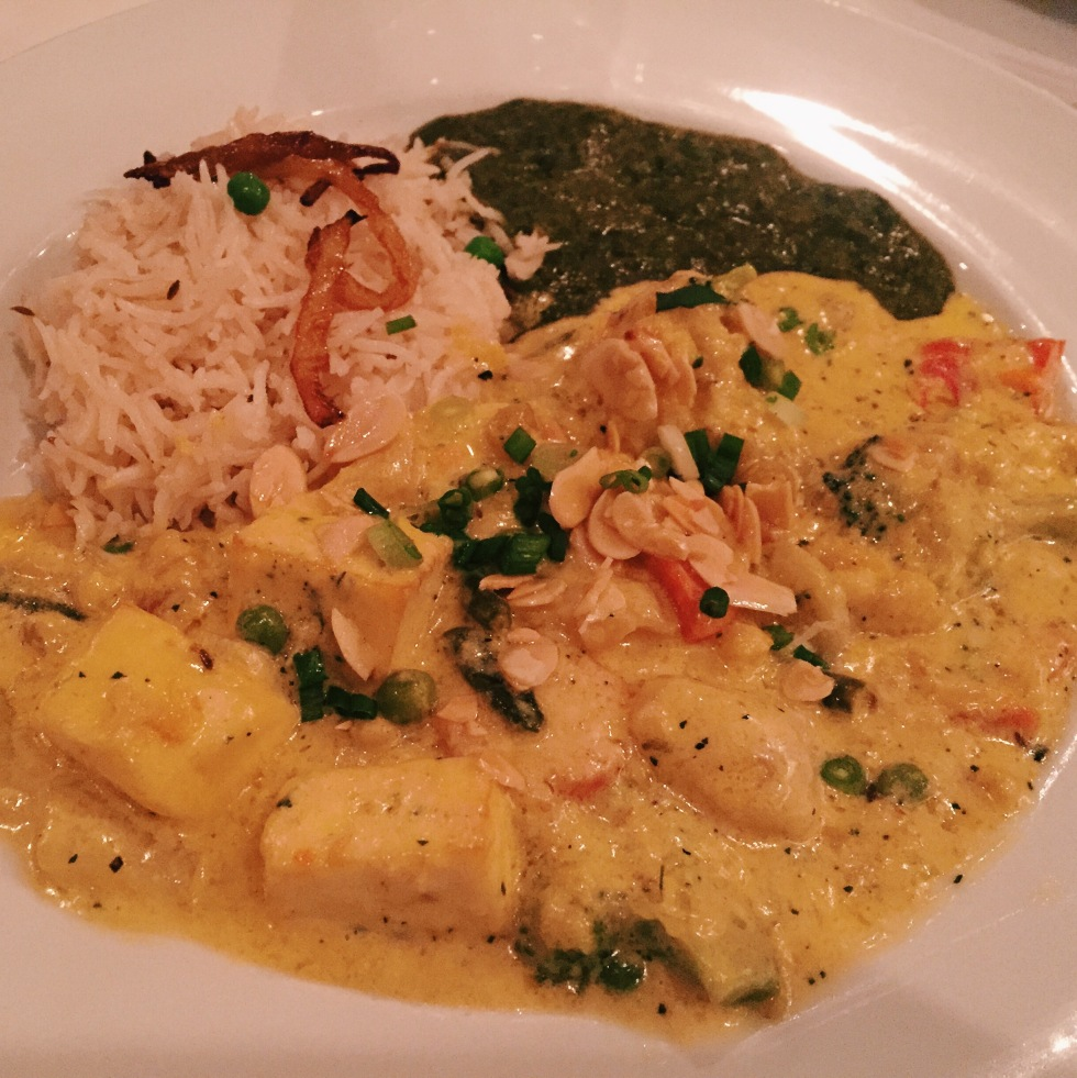 Navrattan Curry at Ananda in Fulton, MD