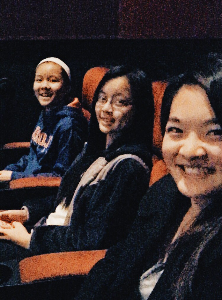 Hunger Games' Mockingjay with cousins :)