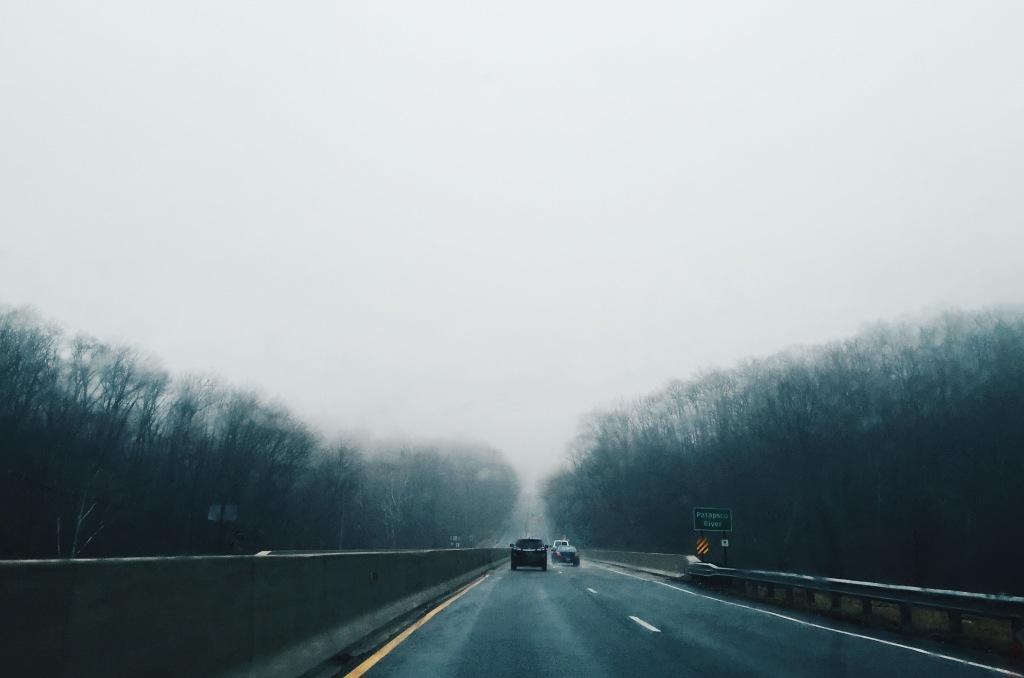 Driving on Baltimore National Pike