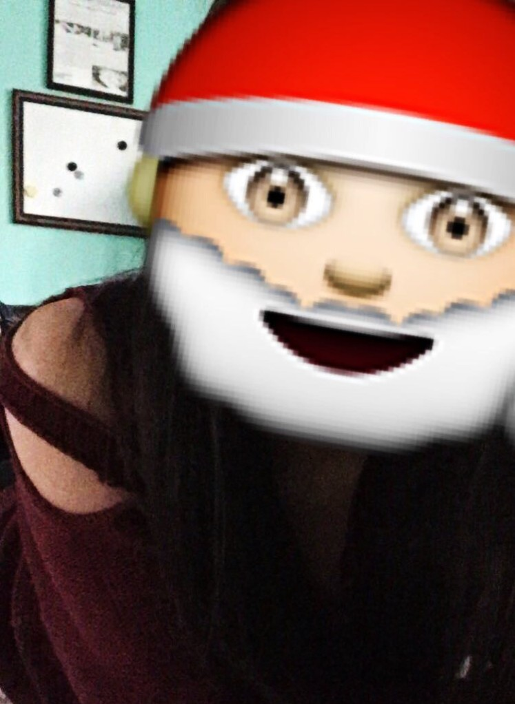 Snapchat Santa