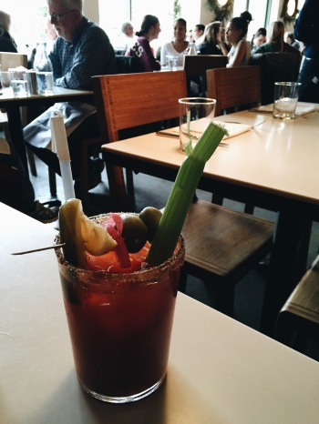 Pickled Mary at Cookshop in Chelsea, NYC