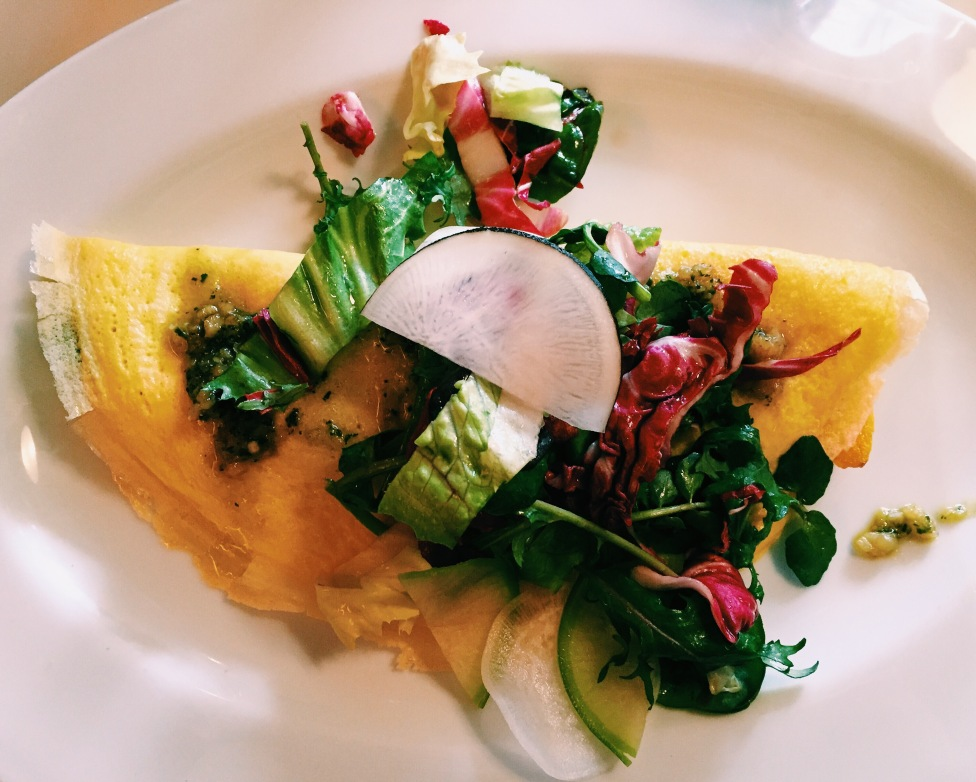 Omelette at Cookshop in Chelsea
