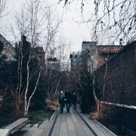 High Line NYC in the winter