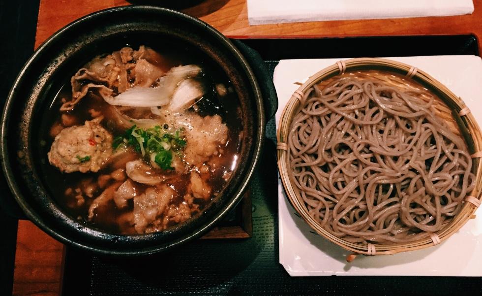 Stamina soba noodles at Cocoron Soba in NYC