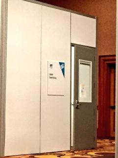 CNET room inside the #CES2015 press room