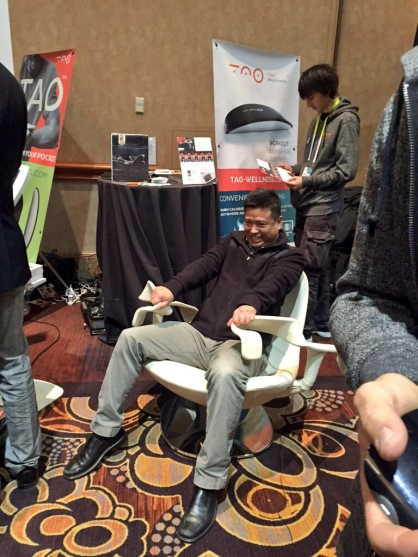 Tao chair at CES Unveiled