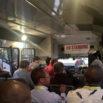 Riding the CES 2015 shuttle