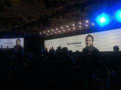 Jawbone at Samsung keynote