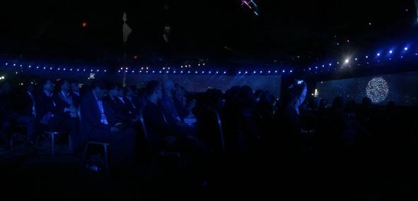 Audience at Samsung keynote