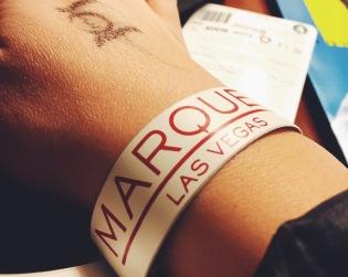 That wristband.