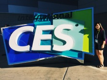 International CES sign