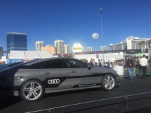 Audi cars at #CES2015