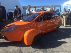 $6800 gas-powered, American-made Elio car
