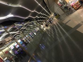 Alone at McCarran airport