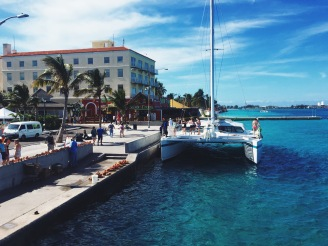 Downtown Nassau waterfront