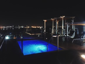 Rooftop at Ciqala Luxury Suites in San Juan, Puerto Rico