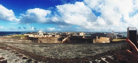 View from Castillo San Cristobal