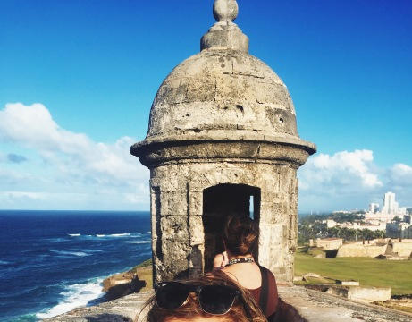 Lookout from Castillo San Cristobal