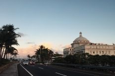 Beautiful sight while walking toward Condado beach