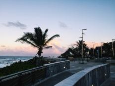 Beautiful view while walking toward Condado beach