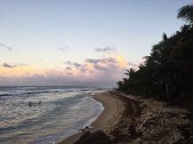 Sunset at Condado beach