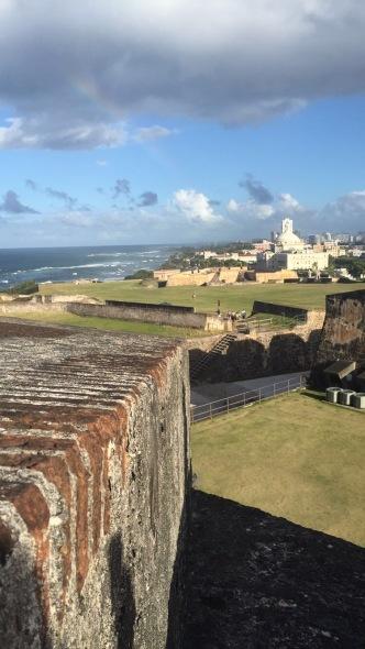 Views on views on views at Castillo San Cristobal
