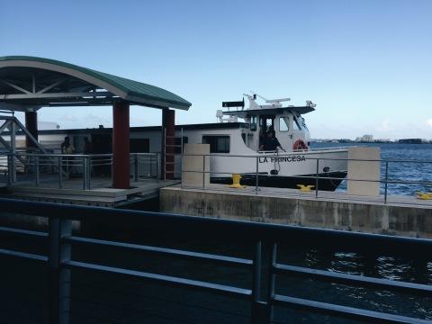 Acua Espresso ferry to San Juan from Cantano