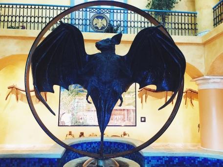 Bat logo at Bacardi Factory