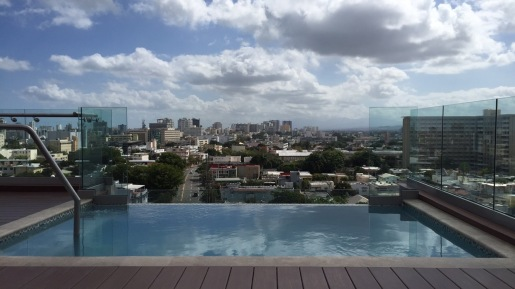 Ciqala rooftop pool and viewCiqala rooftop pool and view