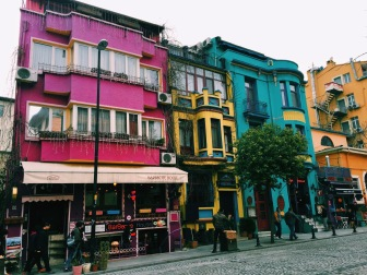 Walking from Basilica Cistern to the Grand Bazaar