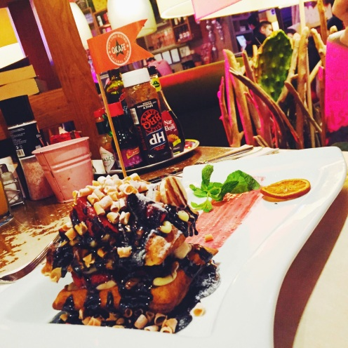 Okafe restaurant in Cevahir mall Istanbul