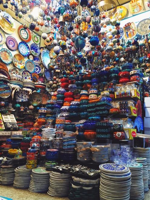 Grand Bazaar in Istanbul