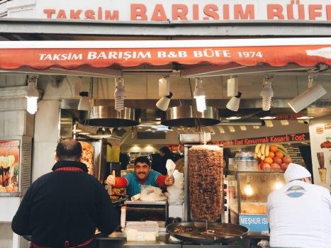 Turkish wet burger