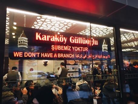 Karaköy Güllüoğlu