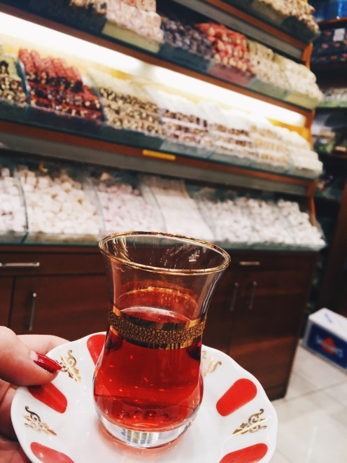 Turkish delights at the Egyptian Bazaar