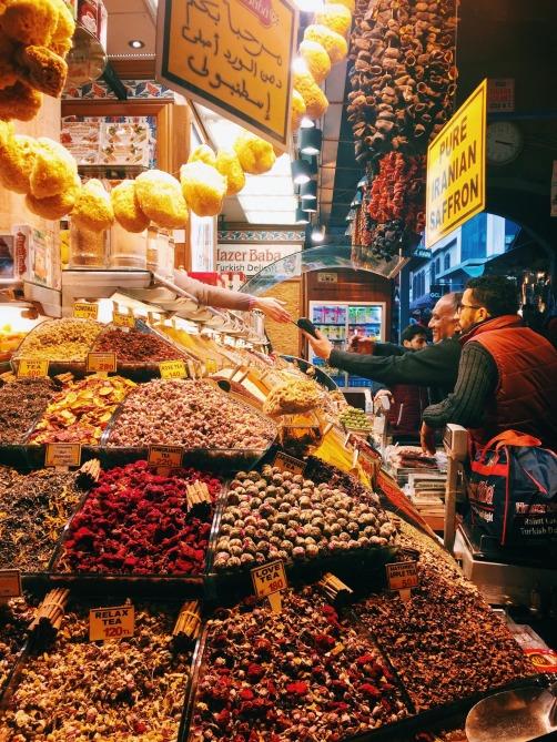 Egyptian Bazaar in Istanbul
