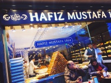 Hafiz Mustafa storefront in Taksim