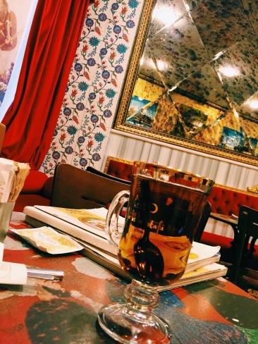 Apple tea at Hafiz Mustafa