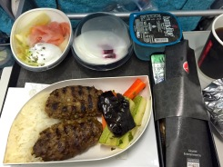 Food on Turkish Airlines