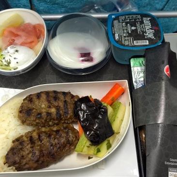 Food on Turkish Airlines