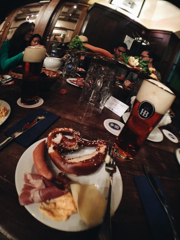 Bavarian Beer & Food Tour at Hofbräukeller